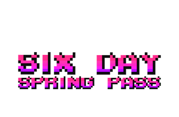 6 Day Spring Pass