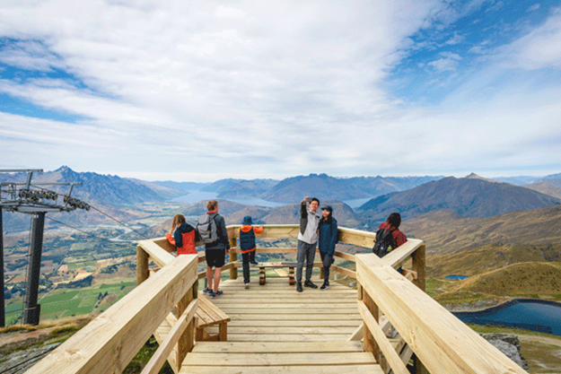 Sightseeing Coronet Peak