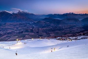 Night Ski - Coronet Peak