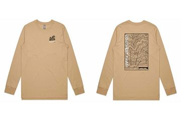 Picture of Coronet Topographical Map long sleeve